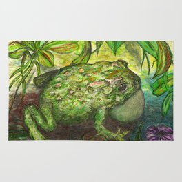 Rain Forest Toad Rug
