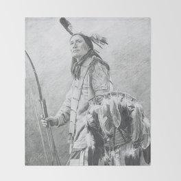 Taopi Ota - Lakota Sioux Throw Blanket