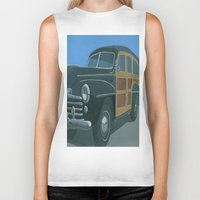 woody Biker Tanks featuring Woody by Gerry High