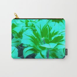 seafoam green tulips Carry-All Pouch