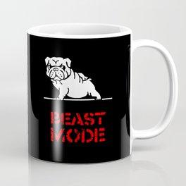 Beast Mode English Bulldog Coffee Mug