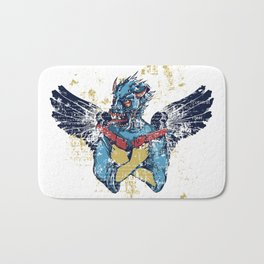 Fallen Hero Eagle Bath Mat