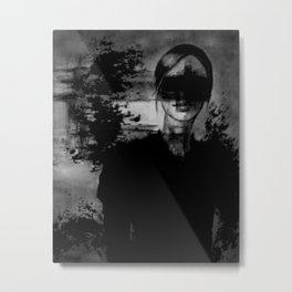OBERON Metal Print