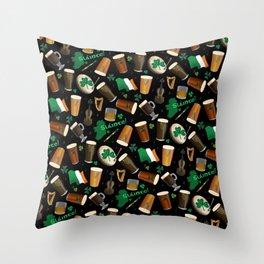 Irish Pub Throw Pillow