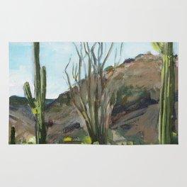 Desert Saguaros Rug