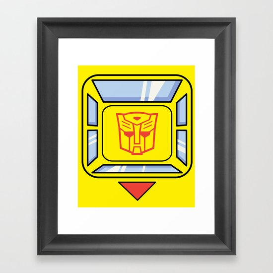 Transformers - Bumblebee Framed Art Print