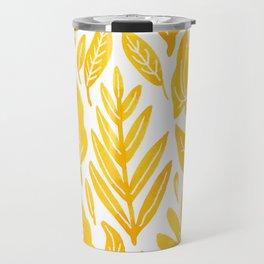 Dandelion Yellow Travel Mug