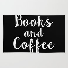Books and Coffee - Inverted Rug