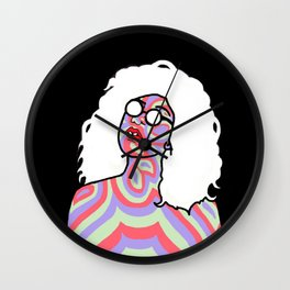 Person Of Color Wall Clock