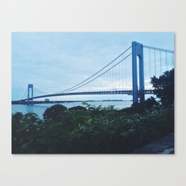 Verrazano Narrows x NYC  Canvas Print