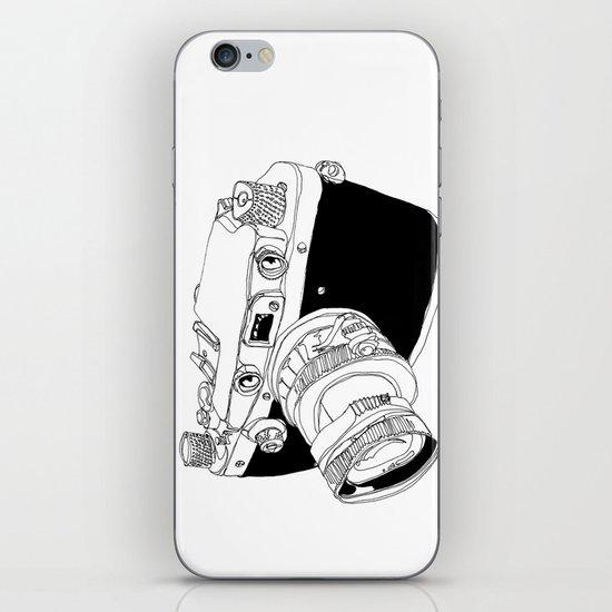 Camera Drawing iPhone & iPod Skin
