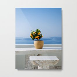 Santorini, Greece #society6 #decor #buyart Metal Print