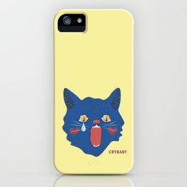Crybaby Kitty iPhone Case