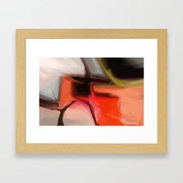 Red Beast Framed Art Print