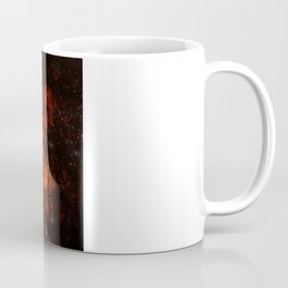 Burning Moon Coffee Mug