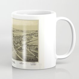 Aerial View of Fleetwood, Pennsylvania (1893) Coffee Mug