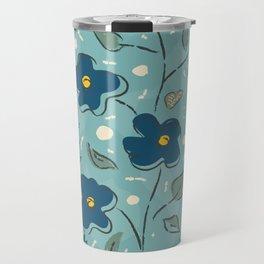 Flowers of the Magical Lake Travel Mug