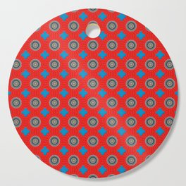 Vitality Pattern Cutting Board