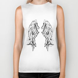 Midnight Flight Biker Tank