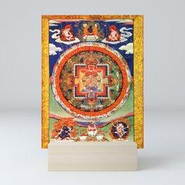 Mandala Buddhist 1 Mini Art Print