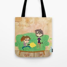 Eyeglasses Tote Bag
