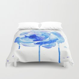 Something Blue Duvet Cover
