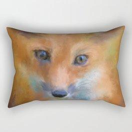 Feeling Foxy Rectangular Pillow