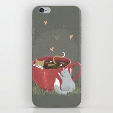 Coffee Mug Cats iPhone & iPod Skin
