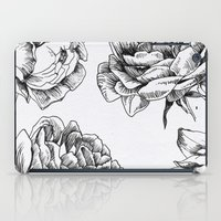 roses iPad Cases featuring Roses  by Caitlin Workman