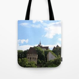 Sighisoara IV Tote Bag