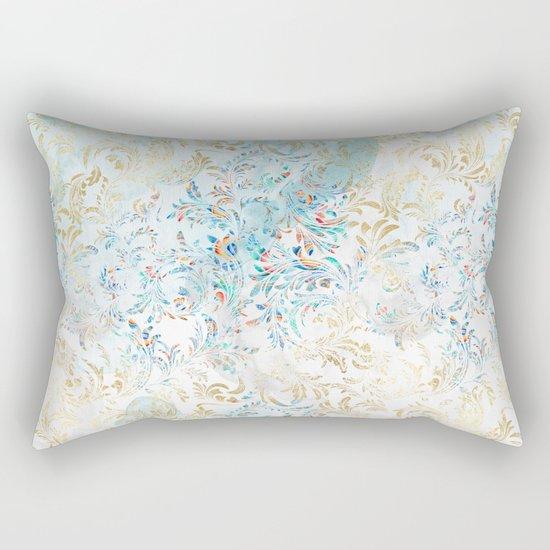 Feather peacock #15 Rectangular Pillow