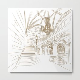 Royal Ballroom Metal Print