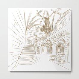Royal Ballroom Metal Print