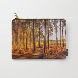 My World Your World Carry-All Pouch