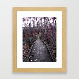 Beaten Path Framed Art Print