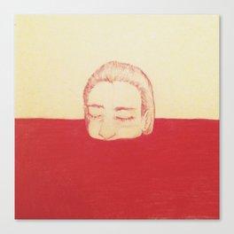 take a bath in my blood Canvas Print