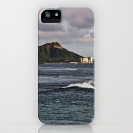 Diamond Head 01 iPhone Case