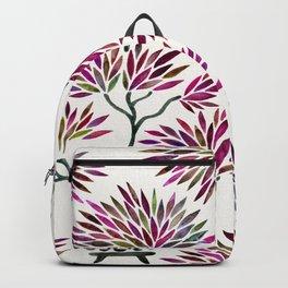Bonsai Tree – Fuchsia Palette Backpack
