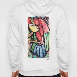 Curious Parrot Hoody