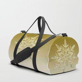 Crystal Snowflake Duffle Bag