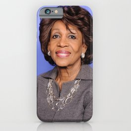 Maxine Waters - Black Culture - Black History iPhone Case