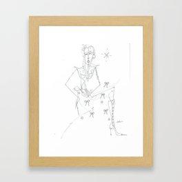 paper_9 Framed Art Print