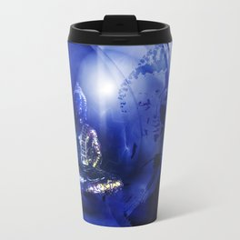 Blue Buddha Travel Mug