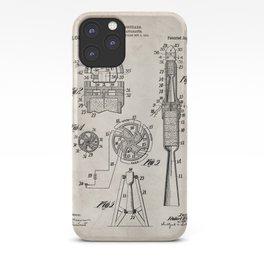 Rocket Ship Patent - Nasa Rocketship Art - Antique iPhone Case