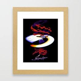 STRIDER Framed Art Print