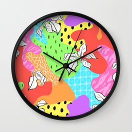 Funk Forest Wall Clock