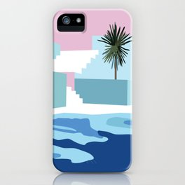 Pool & Steps iPhone Case