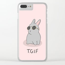 TGIF Clear iPhone Case