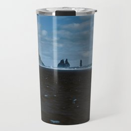 Iceland Sea Stacks Travel Mug