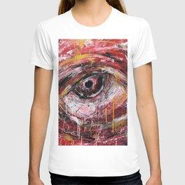 Left red eye T-shirt